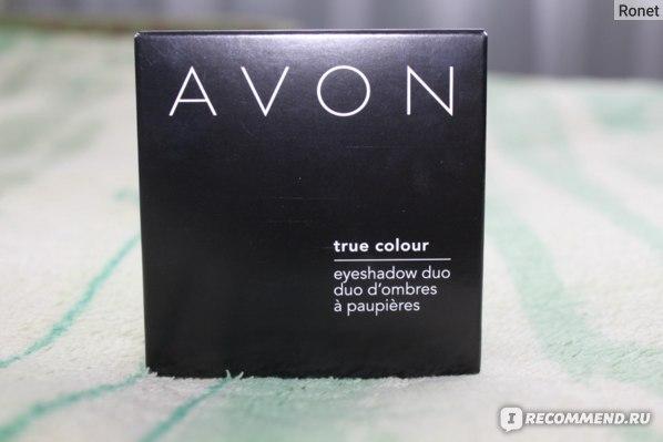 Тени для век Avon двухцветные TRUE COLOR фото