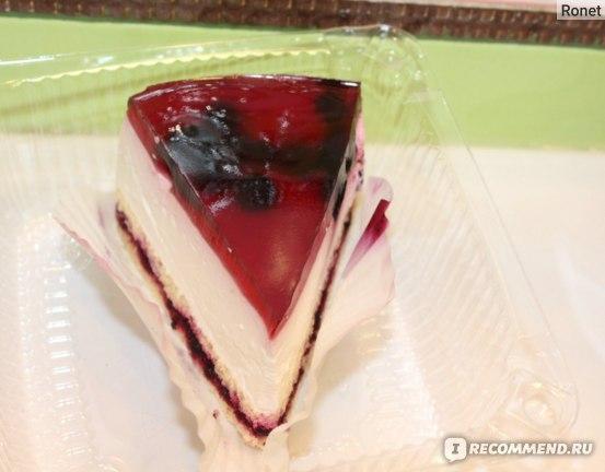 """Торт Супермаркет """"Сильпо"""" Сырно-ягодный фото"""