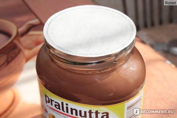 Шоколадная паста Pralinutta С лесными орехами фото