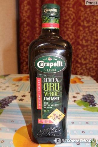 Оливковое масло Carapelli Oro Verde Oil фото