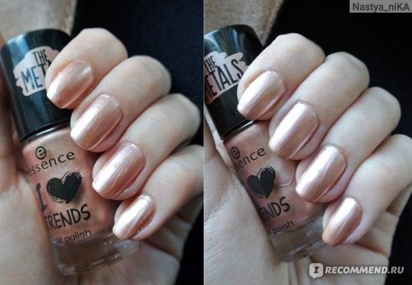 Лак для ногтей Essence I love trends the metals фото