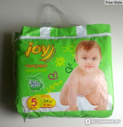Подгузники-трусики Joy Diapers for you фото