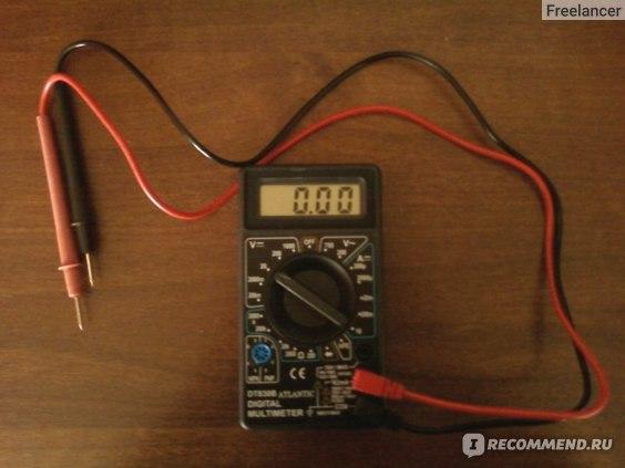 Цифровой мультиметр Ресанта DT-830B фото