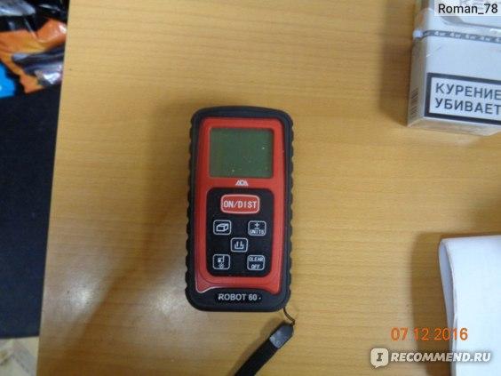Лазерный дальномер ADA Robot 60 фото