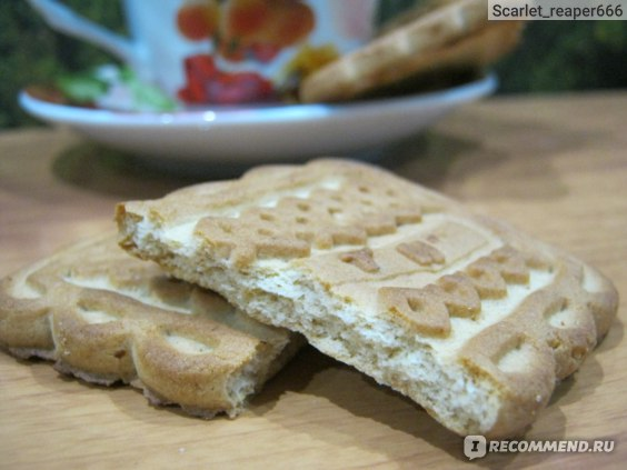 "Печенье сахарное Конти ""Буратино"" с орехом  фото"