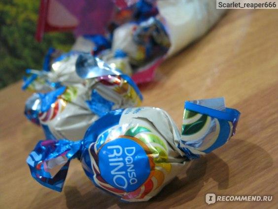 Конфеты АВК «DansaRINO» ванильный вкус фото