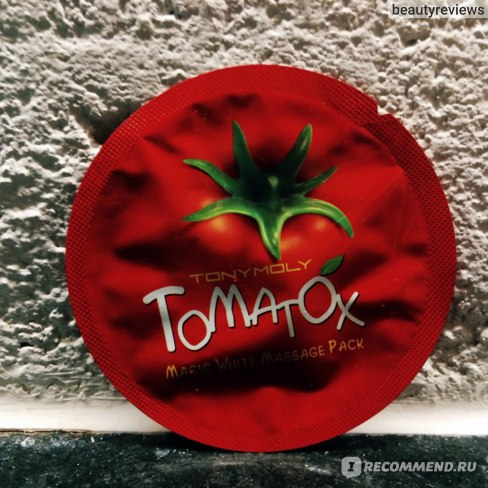 Маска для лица Tony Moly Tomatox Magic White Massage Pack  фото