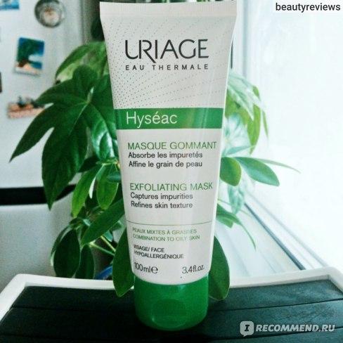 Маска для лица Uriage Hyseac Мягкая отшелушивающая маска-гоммаж фото