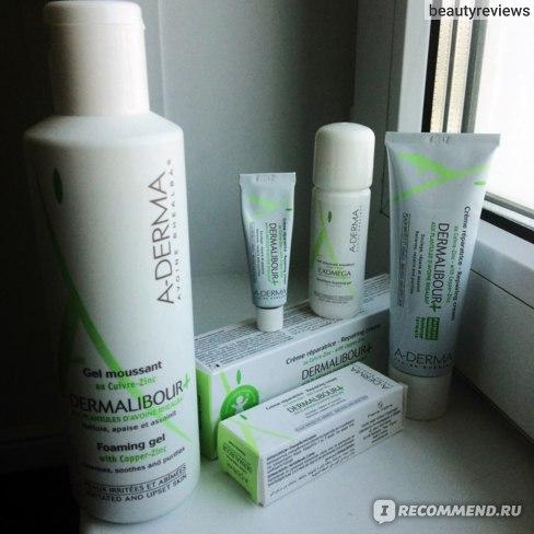 Крем A-derma Dermalibour+ Repairing Cream Дермалибур+ фото