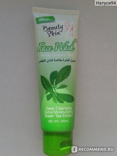 Пенка для умывания Beauty Skin Care С зеленым чаем фото