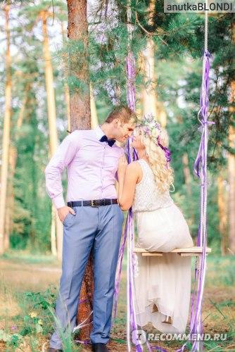 фотосессия на нашу первую годовщину свадьбы в платье Incity