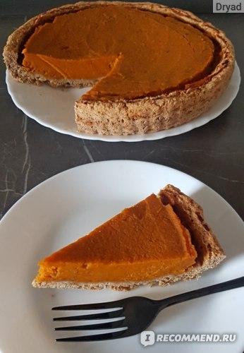 веганский тыквенный пирог без масла