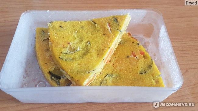 кукурузная фриттата с овощами (замороженная)