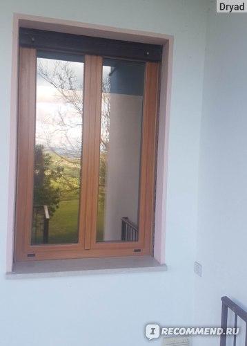 окно с зеркальной пленкой вид снаружи