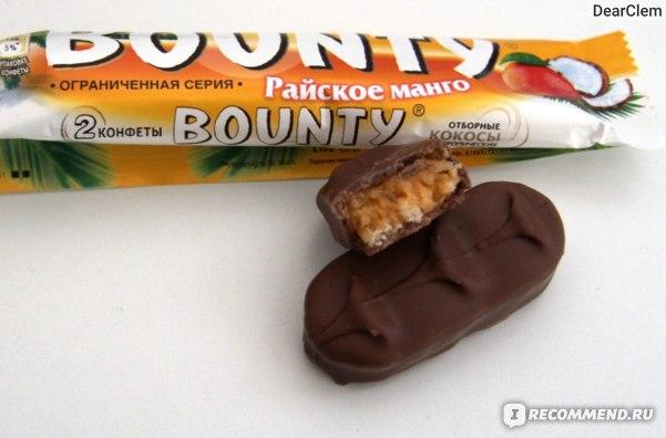 Шоколад Mars Баунти (Bounty) Райское манго фото