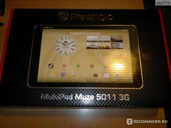 Планшет Prestigio MultiPad PMT5001 3G фото
