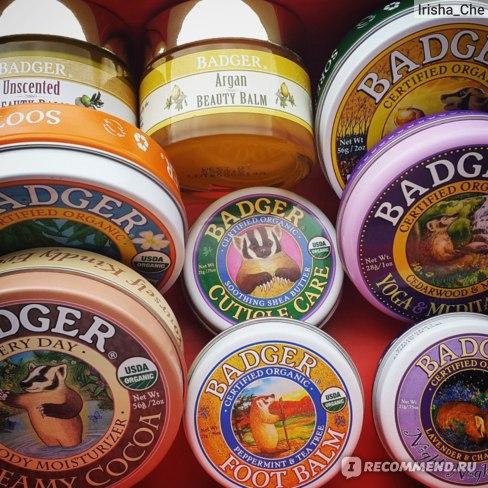 Бальзам Badger Company Night-Night Balm, Lavender & Chamomile (Ночной бальзам, с лавандой и ромашкой) фото