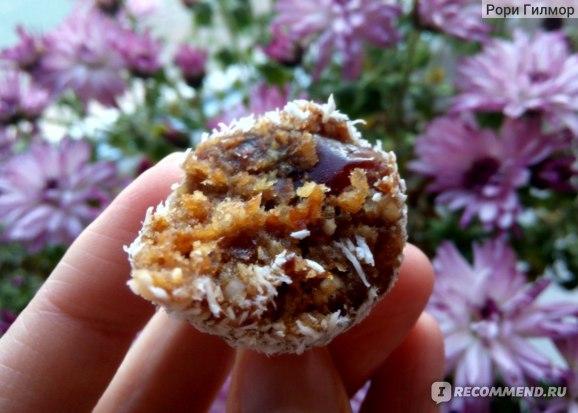 Конфеты с бразильским орехом и кокосом