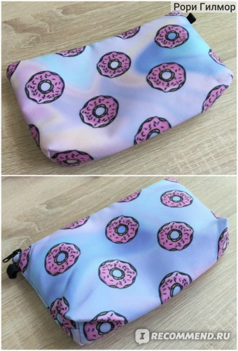 Косметичка Jom Tokoy Printing Makeup Bags With Multicolor Pattern Cute organizer bag Pouchs For Travel Ladies Pouch Women Cosmetic Bag фото