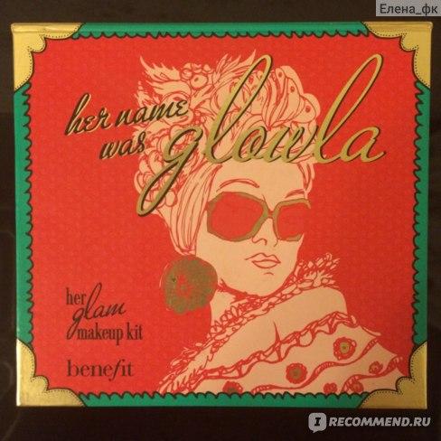 Набор декоративной косметики Benefit Palettes Her Name Was Glowla-her Glam Kit фото