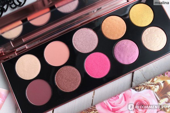 Палетка теней для век Pat McGrath Labs Eyeshadow & Pigment Palette MOTHERSHIP VIII: DIVINE ROSE II фото