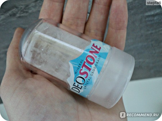 Минеральный дезодорант ООО Мыльные орехи DeoStone стик фото