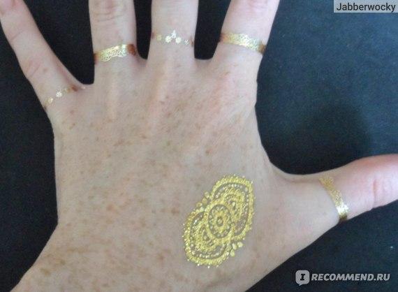 GOLD TATOO / Золотые татуировки фото