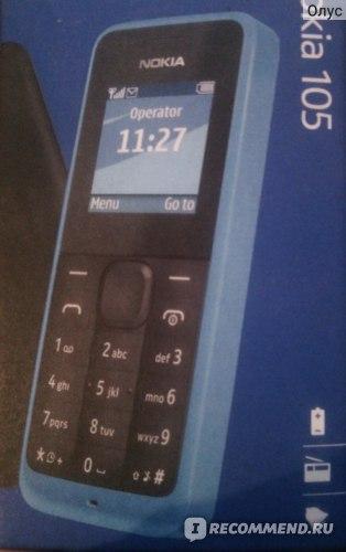 Nokia 105 фото
