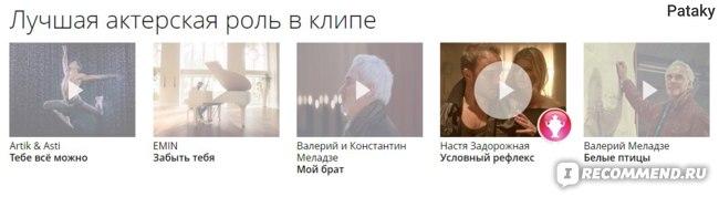 Премия РУ ТВ 2016.