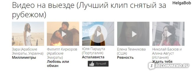 Премия РУ ТВ 2017