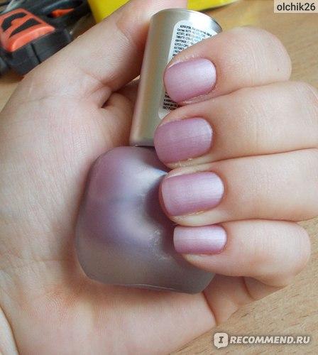 Лак для ногтей - матовое покрытие Alvin D'or Misty Shine фото