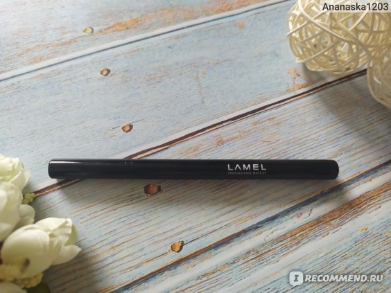 Подводка-фломастер для глаз  Lamel Professional фото