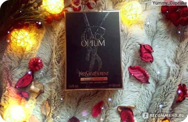 Yves Saint Laurent Black Opium фото