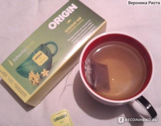 """Фиточай Faberlic Чай зеленый с календулой и зверобоем """"ORIGIN"""" фото"""