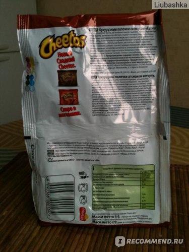 Кукурузные чипсы Cheetos  фото