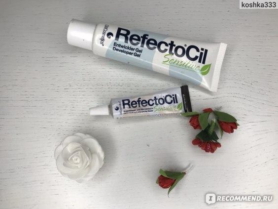 Краска для бровей и ресниц RefectoCil Sensitive фото