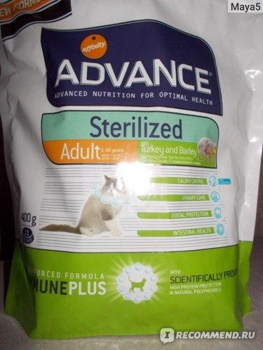 Корм для кошек Advance Cat Sterilized фото