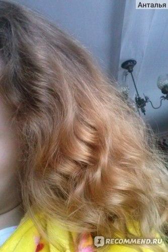 после 3 месяцев волосы блестят