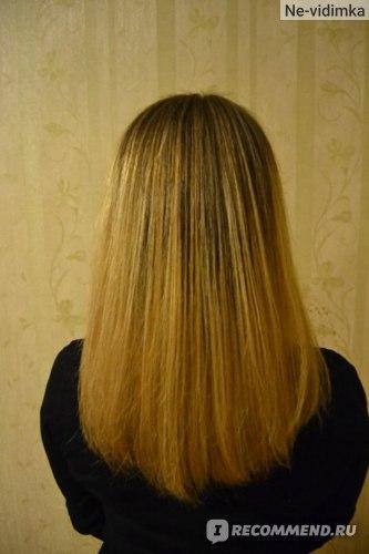 Волосы (до окрашивания) после шелка при сушке естественным путем