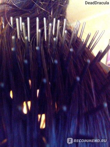 Расческа LOVE LY vs. Влажные волосы