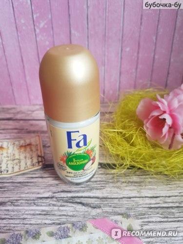 Роликовый дезодорант Fa Ритмы Бразилии Тайна Амазонии отзывы