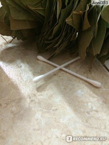 Используем ватные палочки