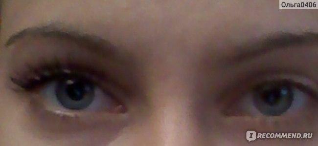 Один глаз накрашен