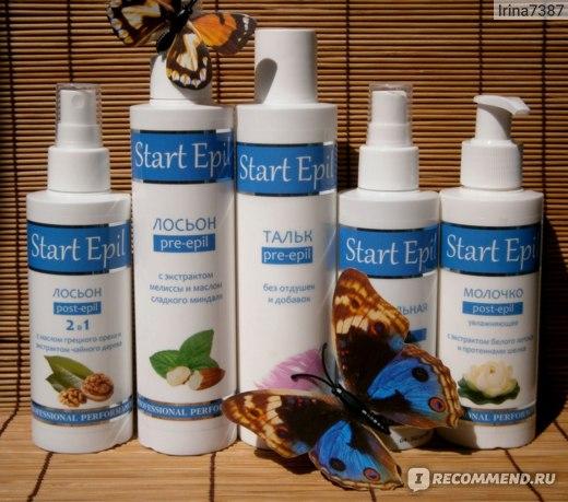 Молочко для тела ARAVIA «Start Epil» увлажняющее с экстрактом белого лотоса и протеинами шелка. фото