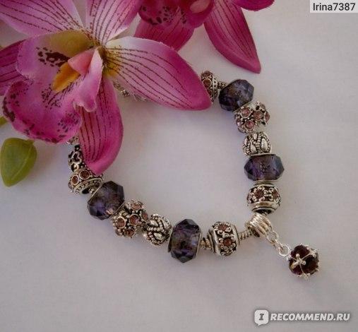 Браслет Aliexpress 2014 new free Shipping European beads 925 Silver Charm bracelet snake Chain Bracelet & Bangle for Women With Murano Glass Beads фото