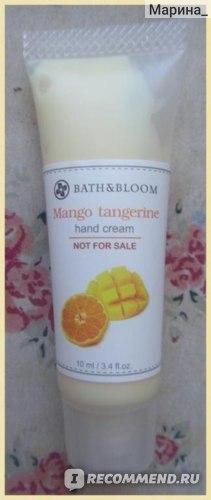 """Крем для рук Bath&Bloom """"Манго и танжерин"""" фото"""
