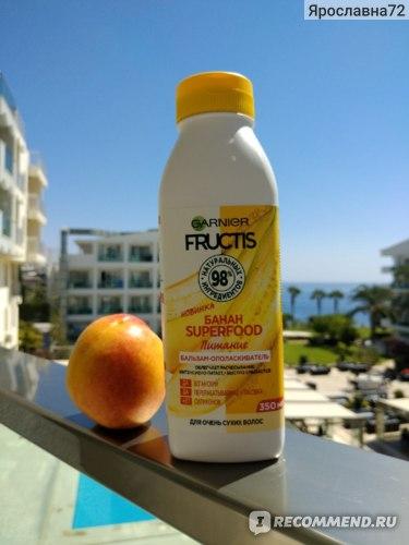 Бальзам-ополаскиватель Garnier SUPERFOOD Банан