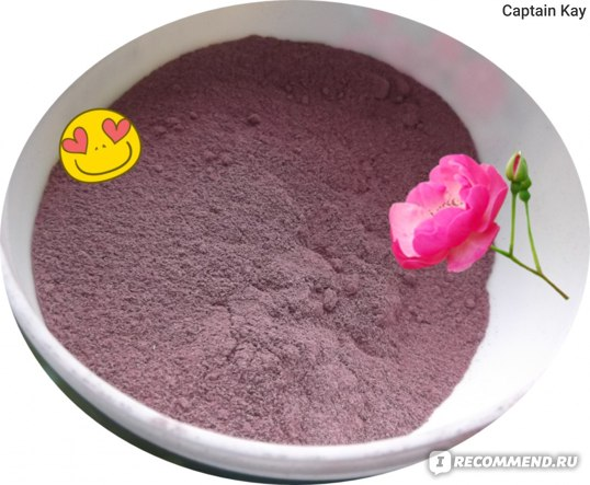 Порошок розы с aroma-zone