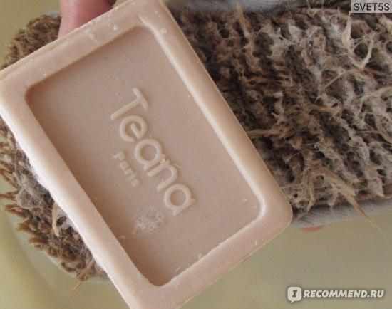 Натуральное мыло для лица и тела с маслом Арганы Teana Древняя магия АРГАНИИ  фото