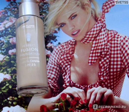 """Тональная основа Oriflame """"Безупречная кожа"""" / Perfect Fusion Foundation фото"""